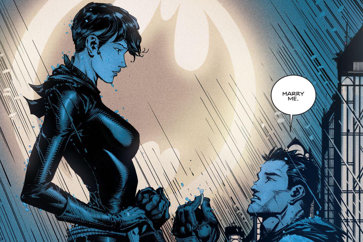 Batman and Selina
