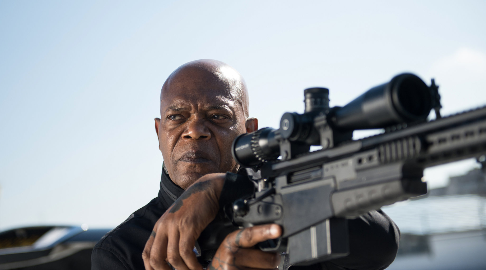 Samuel Jackson in The Hitman's Bodyguard