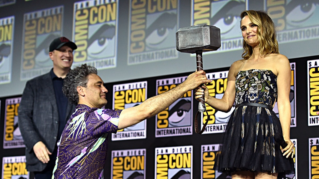 Natalie Portman as Thor in Thor: Love and Thunder