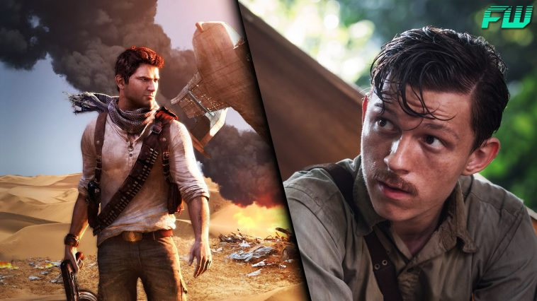 uncharted movie tom holland