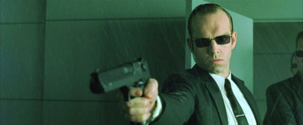 Matrix 4 hugo weaving agent smith