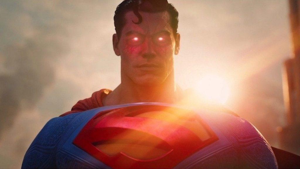 Suicide Squad Kill The Justice League superman heat vision purple energy