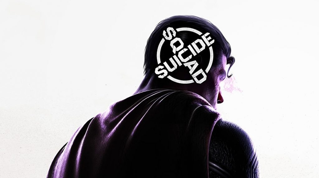 Suicide Squad Kill The Justice League superman logo reticle