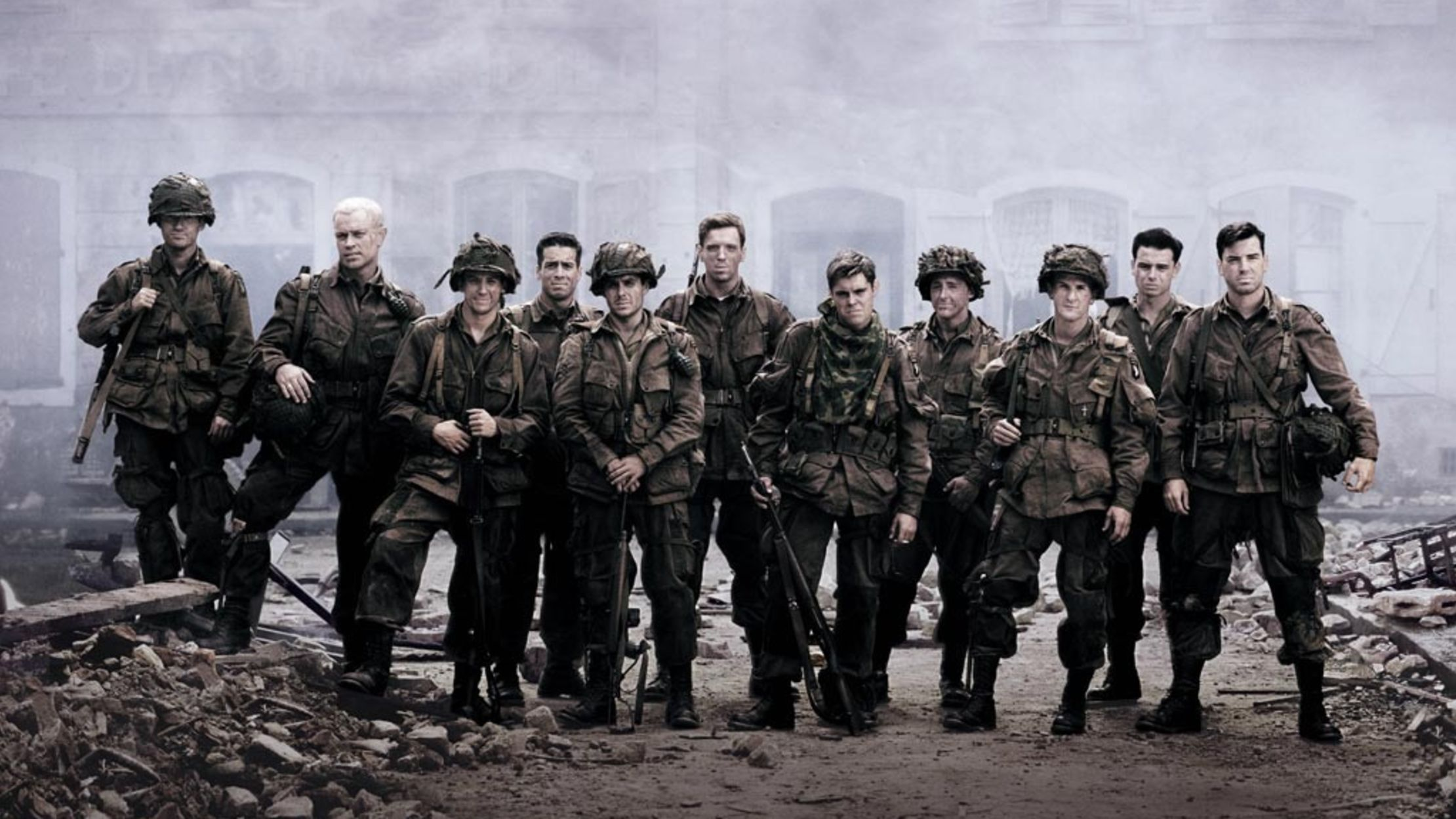 Band of Brothers; War TV shows