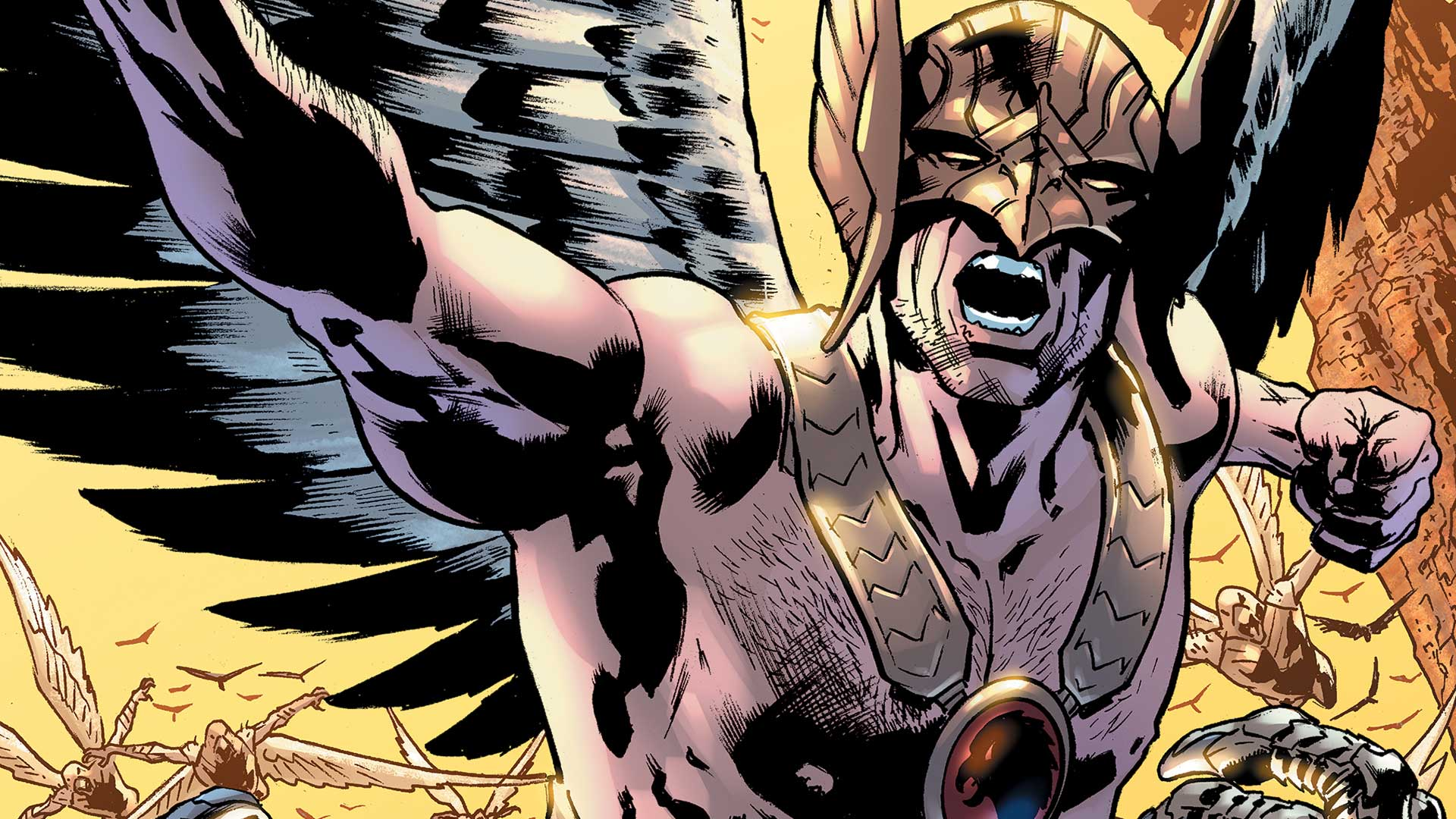 Hawkman in Black Adam