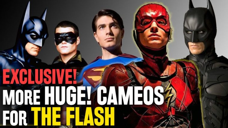 The Flash Approaching Bale, Kilmer, Clooney, & Huge Surprise Cameo
