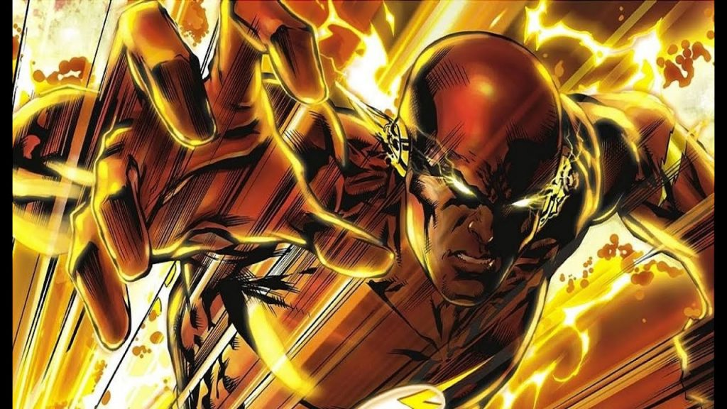 flash vs superman flash infinite mass punch