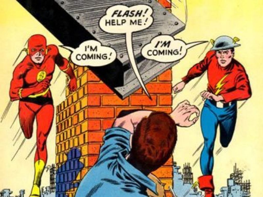 flash vs superman flash multi verse jay garrick