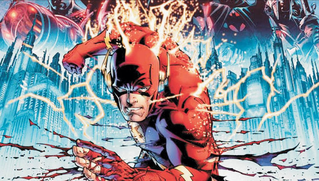 flash vs superman flashpoint time travel barry allen