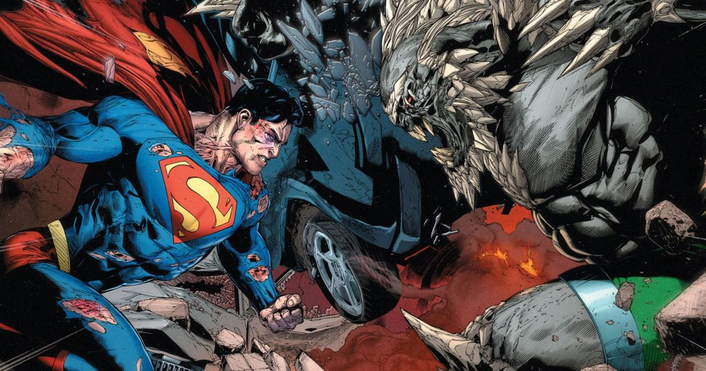 flash vs superman superman-doomsday