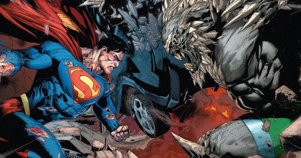 flash vs superman superman-doomsday