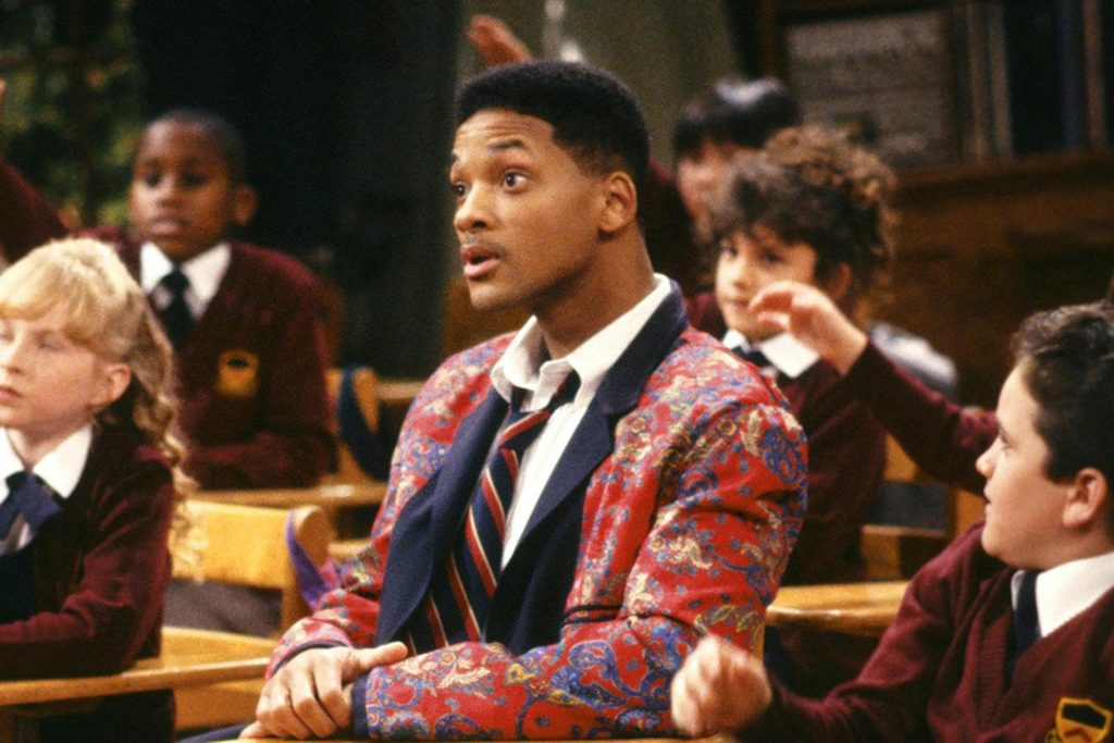 fresh prince reunion special will smith in school