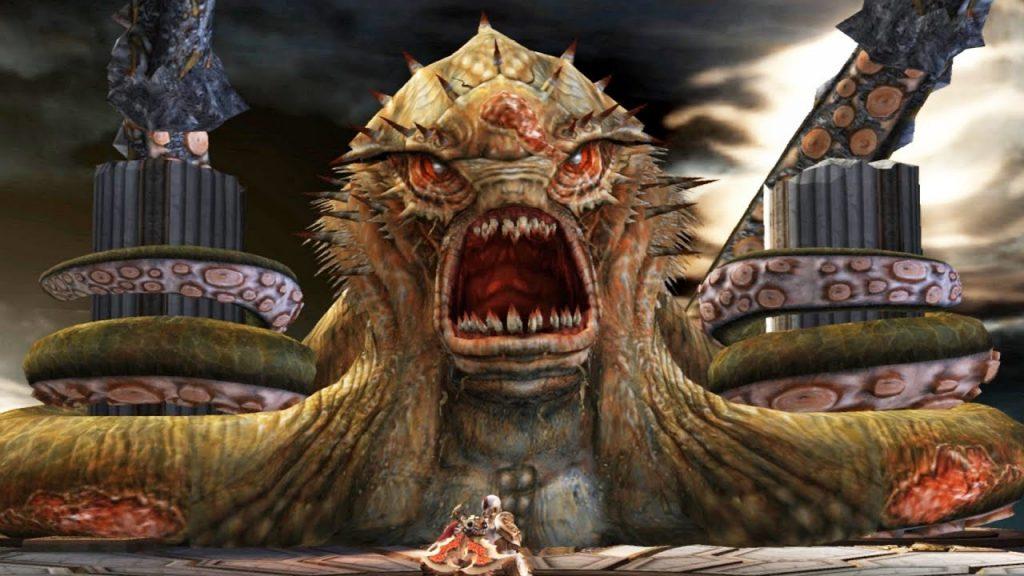 god of war kraken