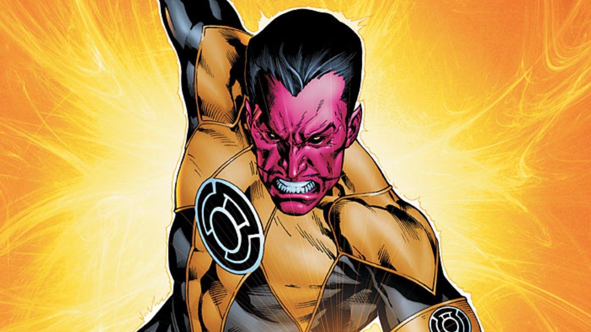 Sinestro vs The Boys