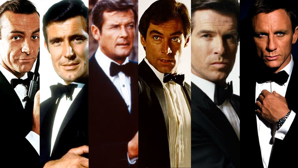 james bond vs Mission Impossible many bond actors