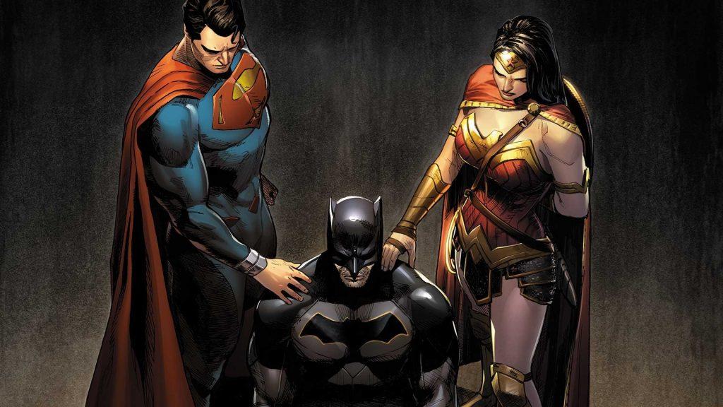 justice league vs. umbrella academy dc comics trinity