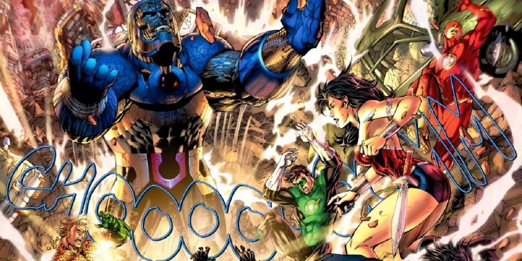 justice league vs. umbrella academy jl vs darkseid