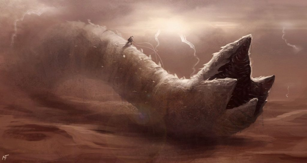 sandworm lightning
