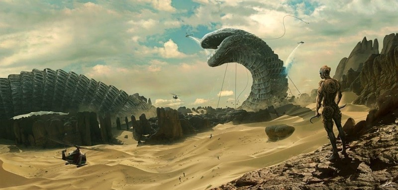sandworms size