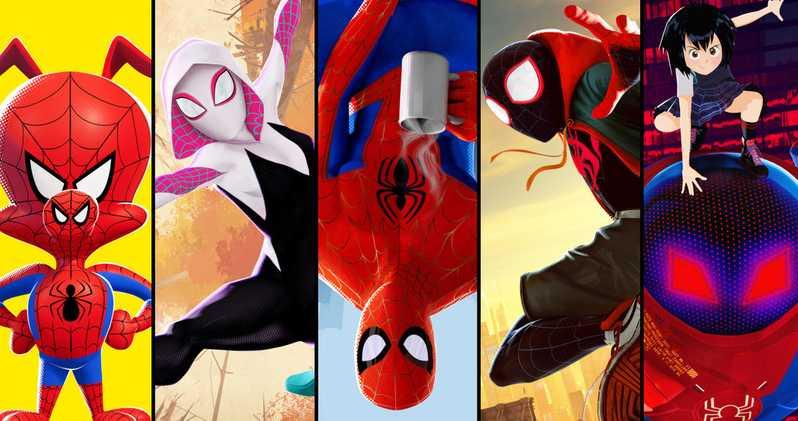 spider-man tv universe many spider-men