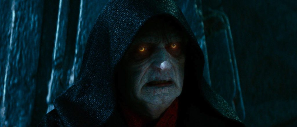 star wars force ghosts palpatine the rise of skywalker