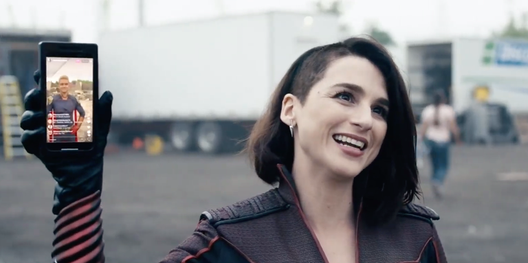 Aya Cash as Stormfront in The Boys