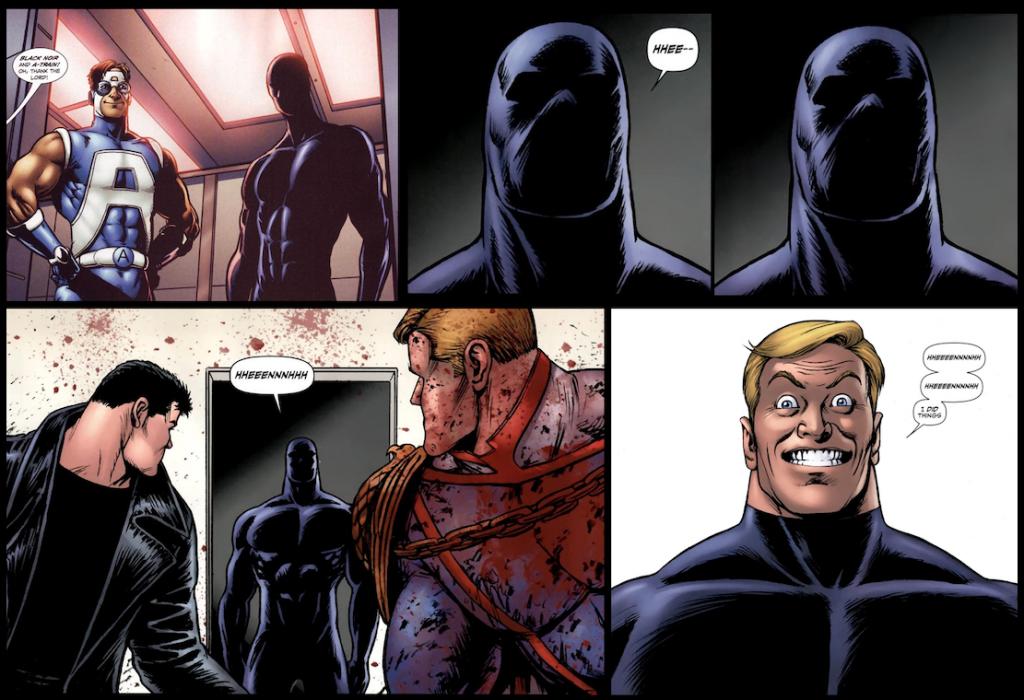 the boys season 2 homelander black noir comics