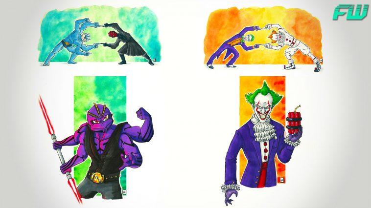 Animator Illustrates A Fusion Of Cartoon Characters Fandomwire