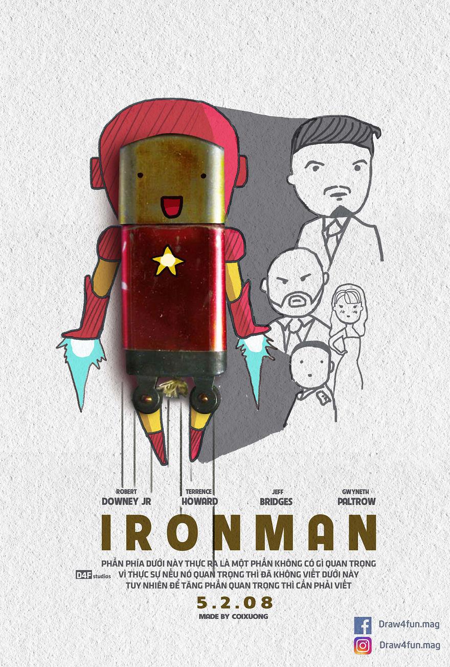 MCU poster Iron Man