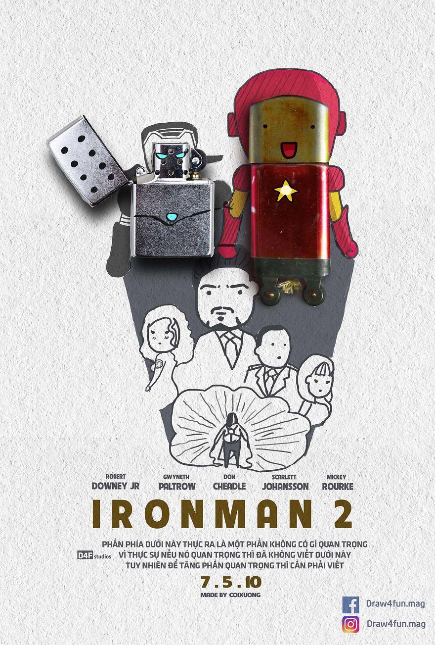 MCU poster Iron Man 2