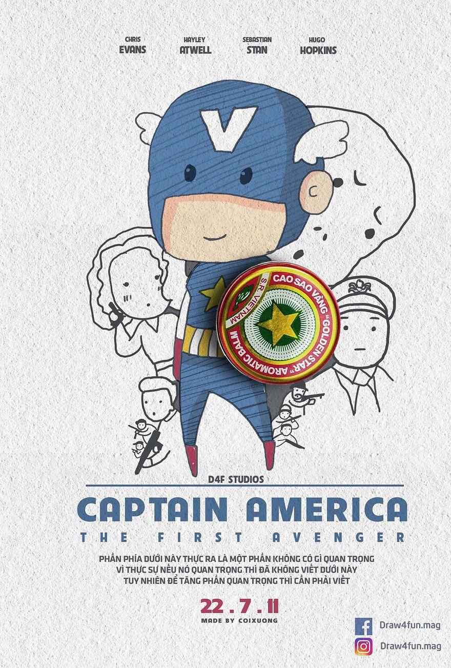 MCU poster Captain America