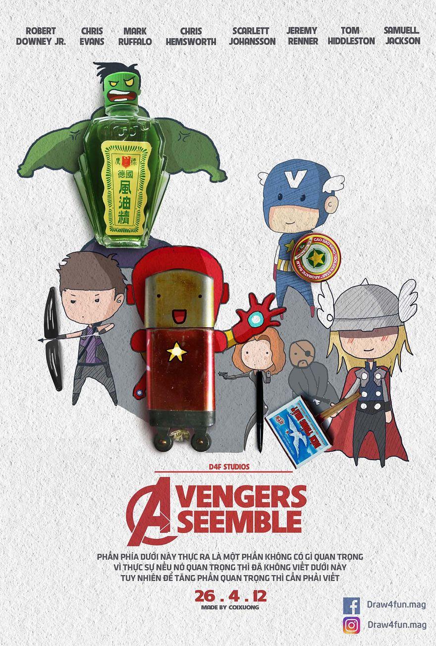 MCU poster Avengers