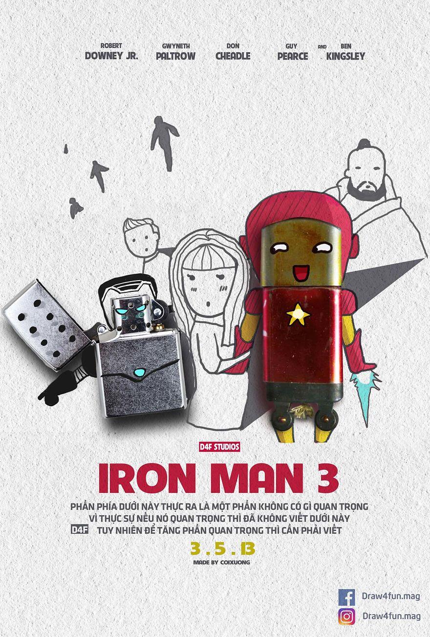 MCU poster Iron Man 3