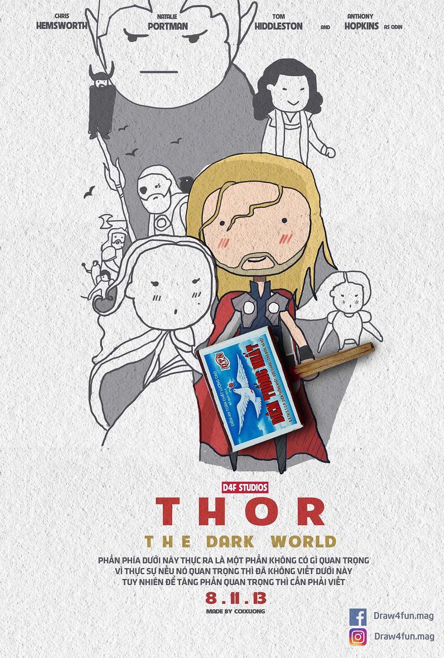 MCU Thor: The Dark World