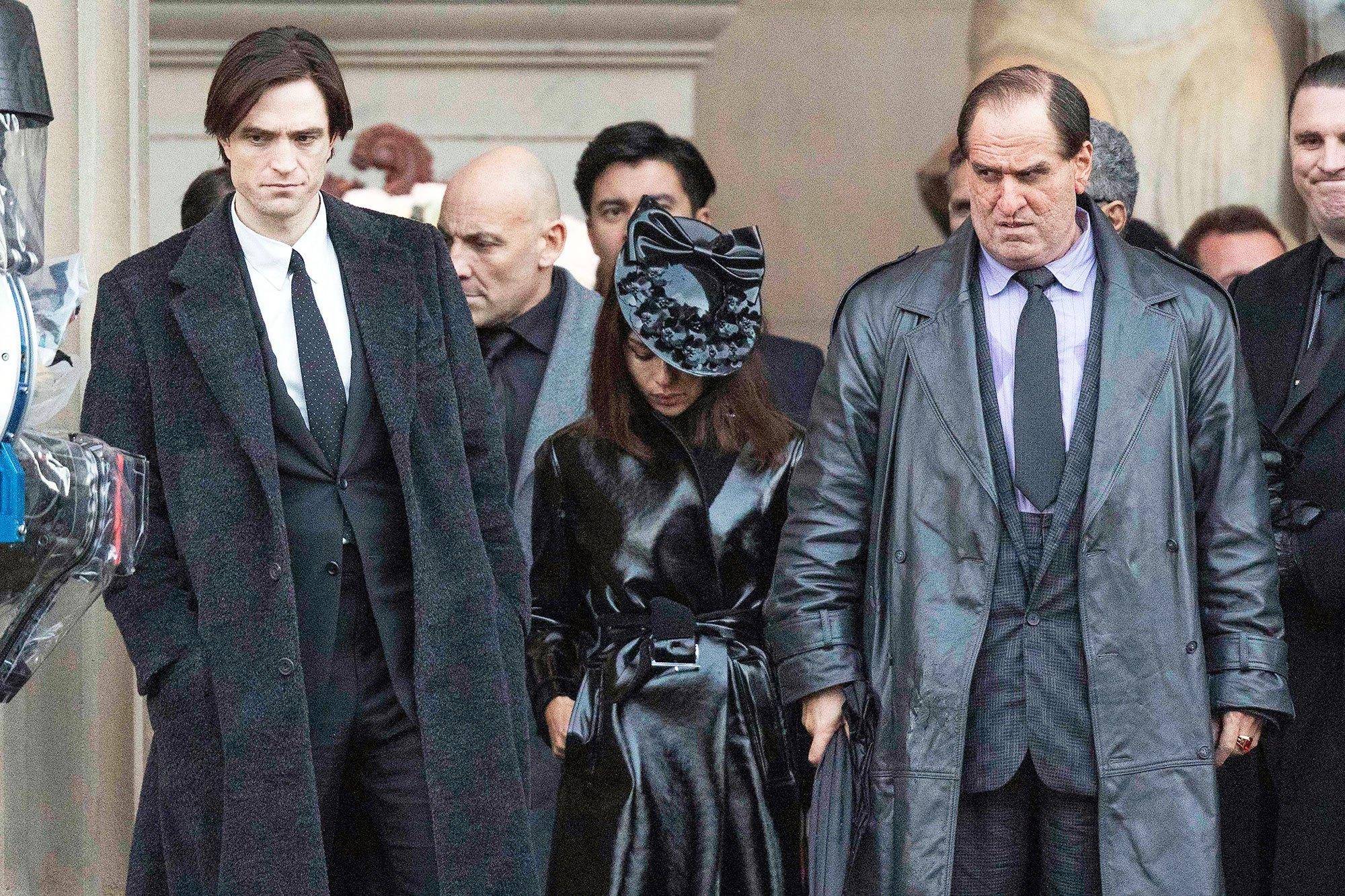 The Batman Set Photo