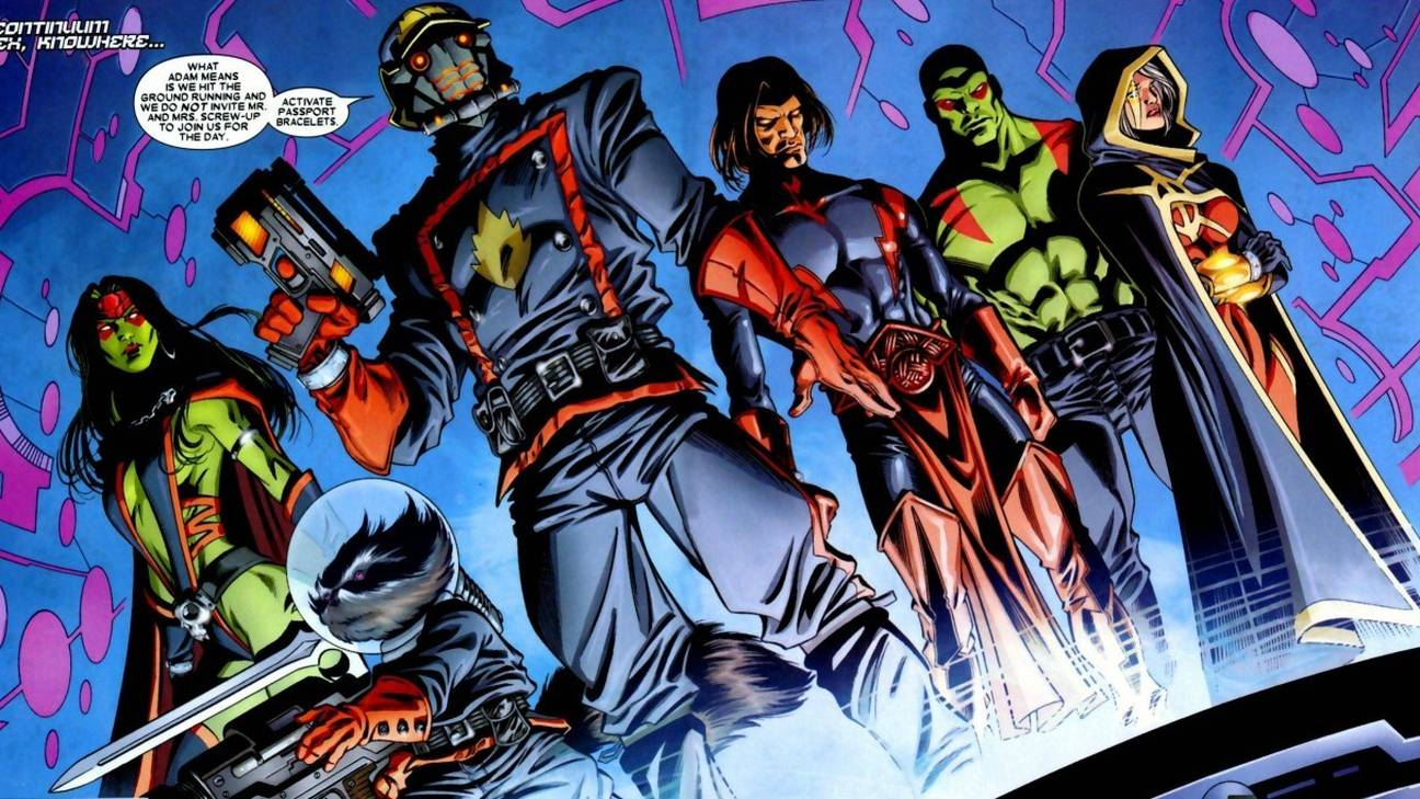 Most Powerful Marvel Teams Guardians of the Galaxy