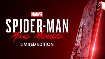 PS5 Gets Spider-Man: Miles Morales Limited Edition Design