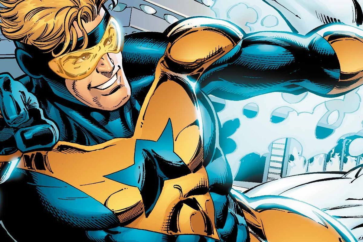 The Mandalorian vs Booster Gold
