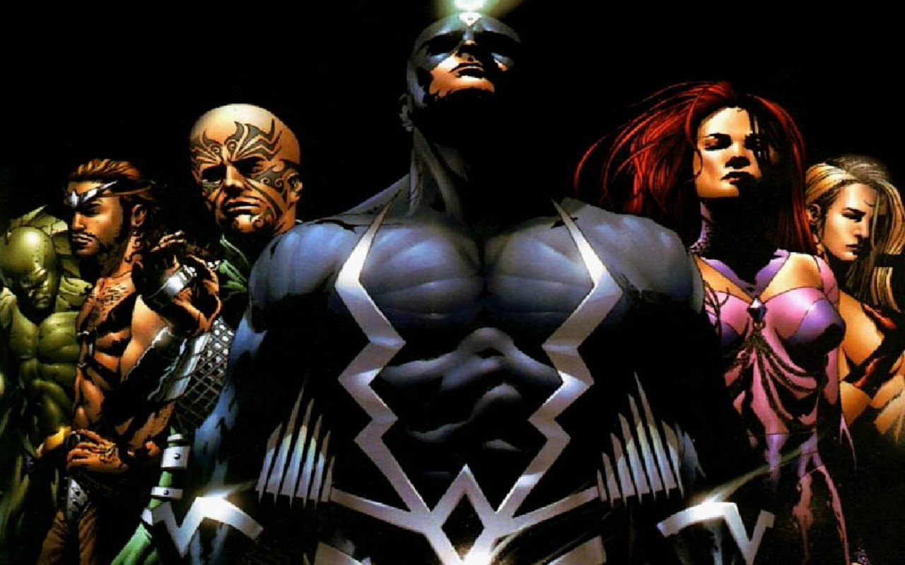 Most Powerful Marvel Teams Inhumans