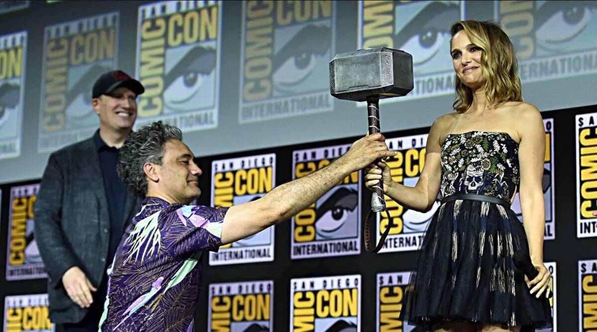 Natalie Portman as The Mighty Thor