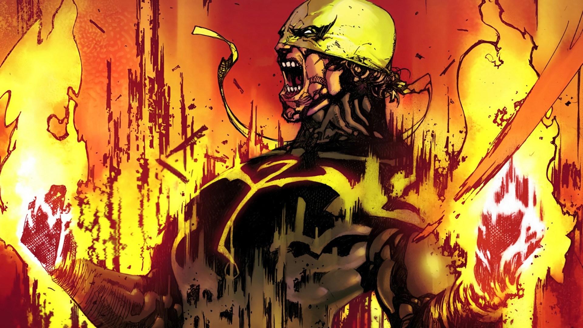 Batman vs Iron Fist