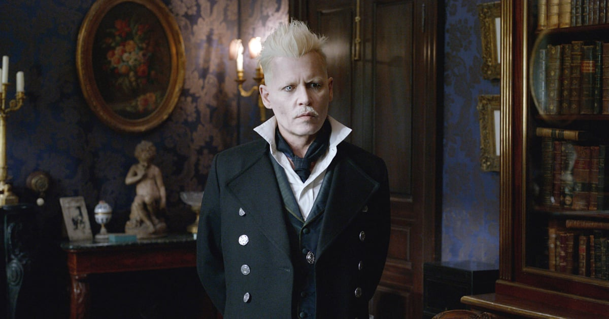 Johnny Depp as Grindelwald