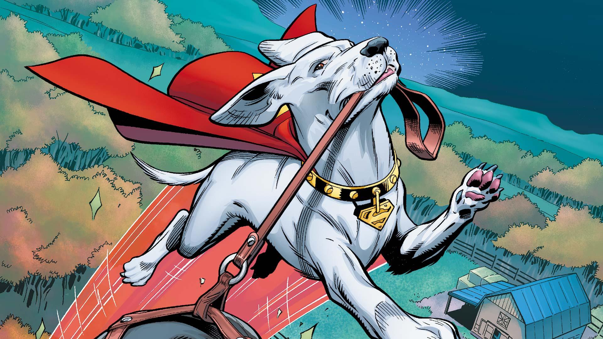 Krypto, Superman's dog