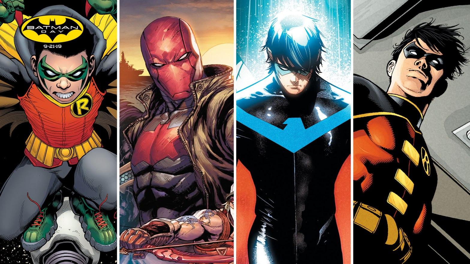 All four Robin