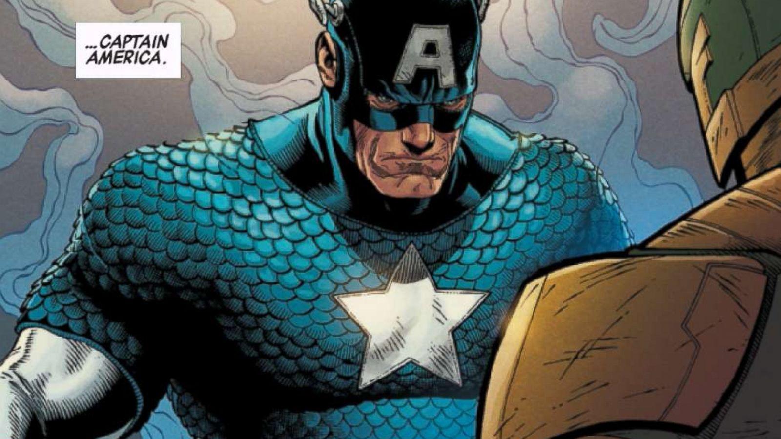 The Boys vs Captain America