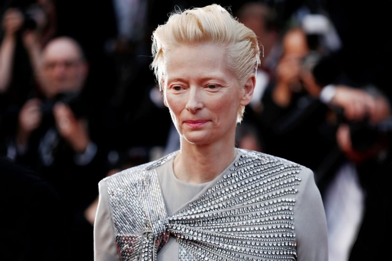 Tilda Swinton for Grindelwald