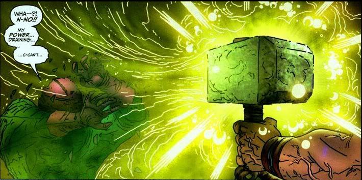 Mjolnir can absorb energy