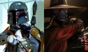 Book of Boba Fett and Cad Bane