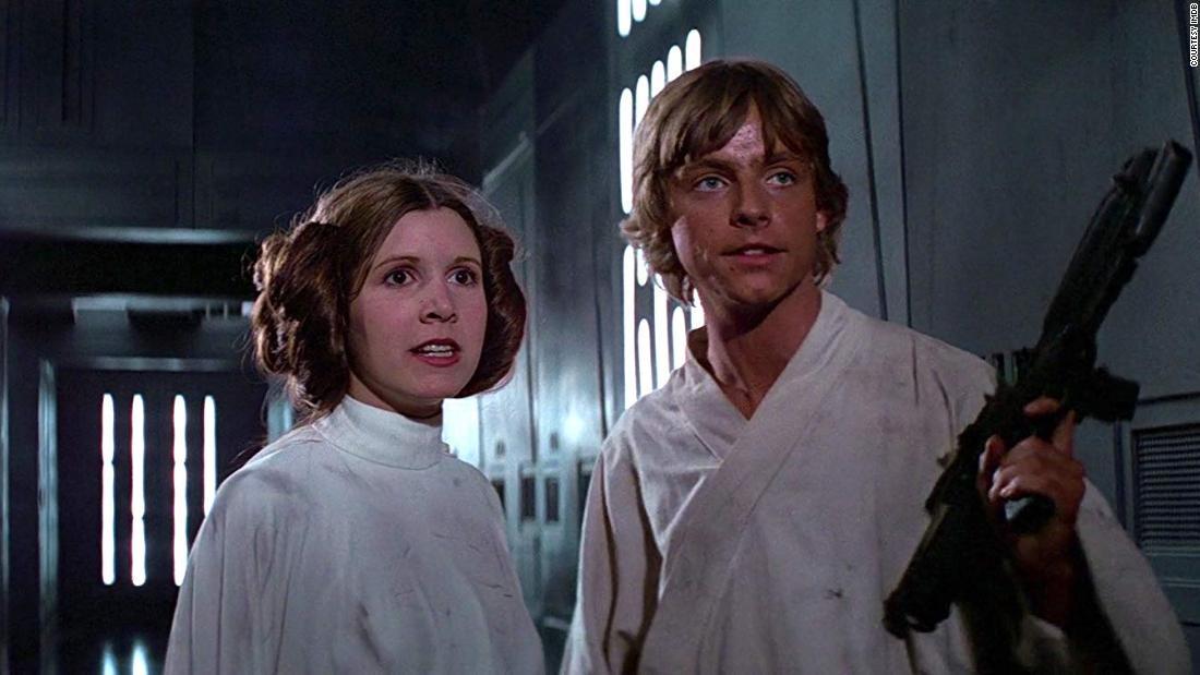 Leia and Luke Skywalker
