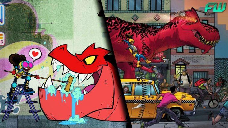 Moon Girl and Devil Dinosaur Comic Stills